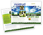 Nature & Environment: Heldere Dag Brochure Template #06630