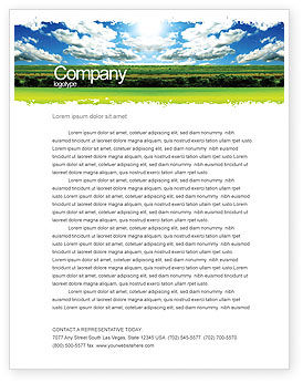 Nature & Environment: Bright Day Letterhead Template #06630