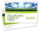 Nature & Environment: Bright Day Postcard Template #06630