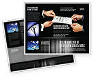 Business: Modello Brochure - Stretching un centinaio di dollari #06646