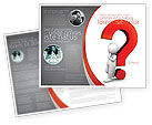 Consulting: Question Mark Brochure Template #06651