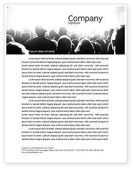 Art & Entertainment: Mob Letterhead Template #06683