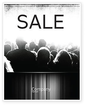 Art & Entertainment: Mob Sale Poster Template #06683