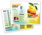 Food & Beverage: Cut Apple Brochure Template #06731
