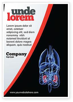 Medical: 腎臓 - 広告テンプレート #06769