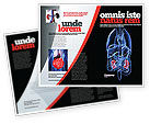 Medical: Kidney Brochure Template #06769