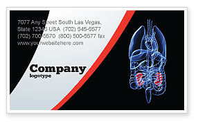 Kidney Business Card Template