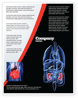 Medical: Kidney Flyer Template #06769