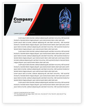 Medical: Kidney Letterhead Template #06769