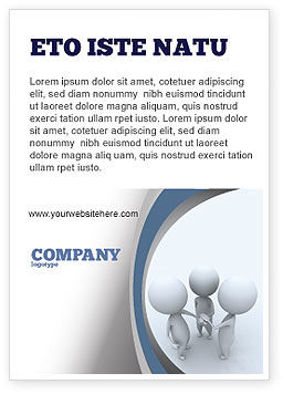 Arrangement Ad Template, 06771, Consulting — PoweredTemplate.com