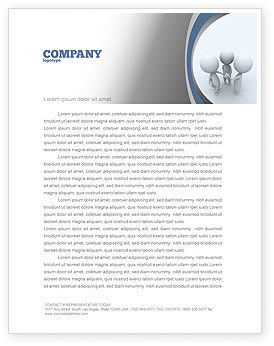 Arrangement Letterhead Template, 06771, Consulting — PoweredTemplate.com