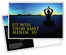 Religious/Spiritual: Contemplation Postcard Template #06786