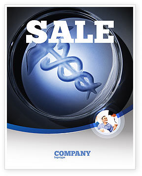 Medicine Sale Poster Template, 06812, Medical — PoweredTemplate.com