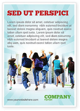 Education & Training: School Kids Ad Template #06830
