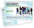 Education & Training: School Kids Postcard Template #06830
