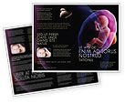Medical: Fetus Brochure Template #06851