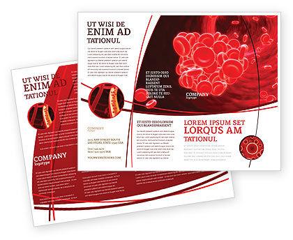 Blood Clot Brochure Template