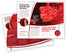 Medical: Blood Clot Brochure Template #06904