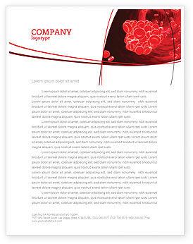 Blood Clot Letterhead Template, 06904, Medical — PoweredTemplate.com