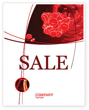 Blood Clot Sale Poster Template