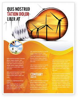 Careers/Industry: Plantilla de volante - tecnologías ahorradoras de energía #06908