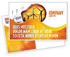 Careers/Industry: Energy Saving Technologies Postcard Template #06908