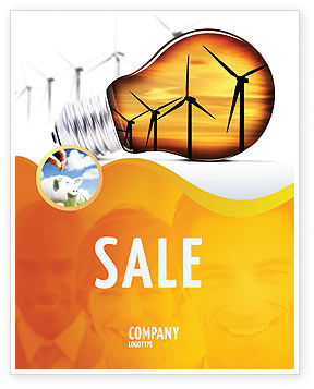 Careers/Industry: Energy Saving Technologies Sale Poster Template #06908