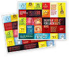 Education & Training: Childish Theme Brochure Template #06913