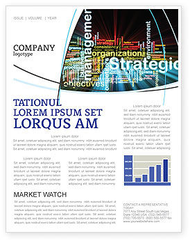 Business: Strategic Management Newsletter Template #06919