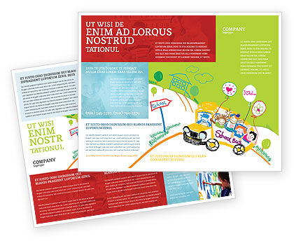 Teaching Brochure Templates, Design And Layouts | Poweredtemplate.Com