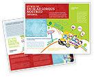 Education & Training: Templat Brosur Bus Sekolah Sebagai Gambar Kekanak-kanakan #06932