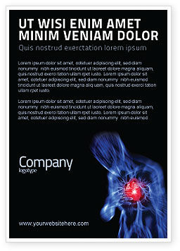 Medical: Heart Catadrome Ad Template #06982