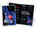 Medical: Heart Catadrome Brochure Template #06982
