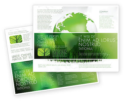 Growing World Brochure Template