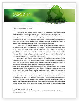 Global: Growing World Letterhead Template #06989