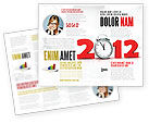 Holiday/Special Occasion: 2010 Ticking Brochure Template #06994