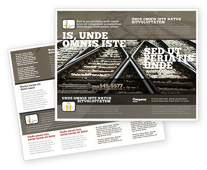 Railways Brochure Template