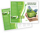 Nature & Environment: Green Habitat Brochure Template #07037