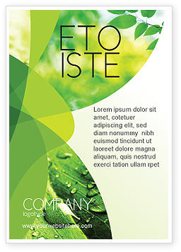 Abstract/Textures: Green Theme Ad Template #07047