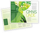 Abstract/Textures: Green Theme Brochure Template #07047