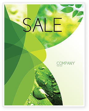 Abstract/Textures: Green Theme Sale Poster Template #07047