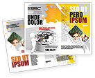 Business Concepts: Breaking the Wall Brochure Template #07058