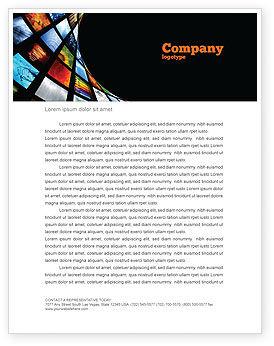 Image Store Letterhead Template, 07060, Careers/Industry — PoweredTemplate.com