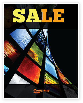 Image Store Sale Poster Template, 07060, Careers/Industry — PoweredTemplate.com