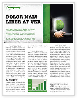 Global: Green Solutions Newsletter Template #07063