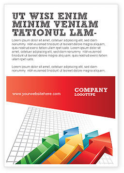 Business Concepts: Positive Results Ad Template #07064