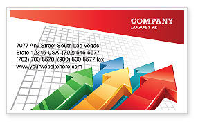 Business Concepts: Positive Results Business Card Template #07064