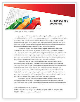 Business Concepts: Positive resultate Briefkopf Vorlage #07064