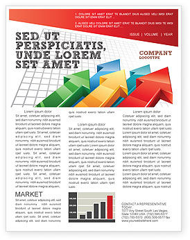 Business Concepts: Positive Results Newsletter Template #07064