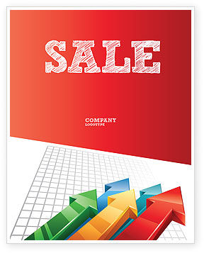 Business Concepts: Positive Results Sale Poster Template #07064